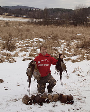 The future of upland hunting is in good hands.